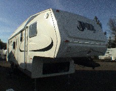 2008 Model 3180 JAZZ Fifth Wheel.